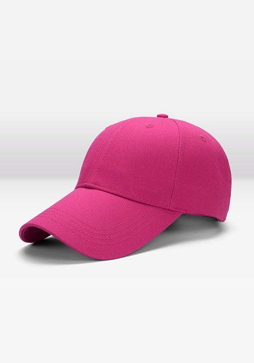 粉色棒球帽
